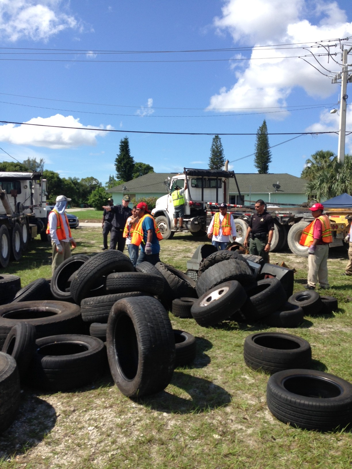 June Clean Up collects 8.5 TONS of garbage!